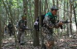 Ranger Training Forest Patrol. Photo by Joy Asato